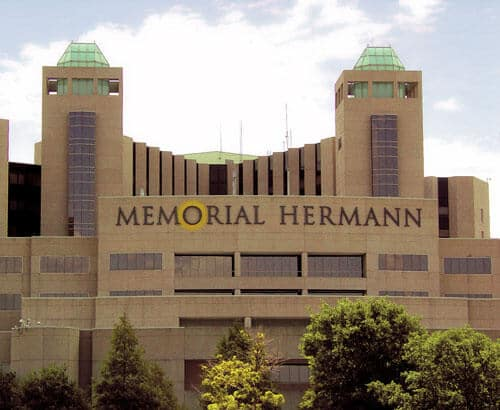 memorial hermann houston hotels